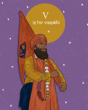 V for Vaisakhi