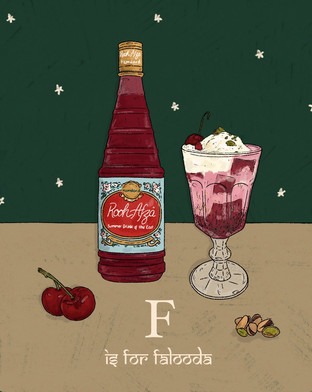 F is for Falooda