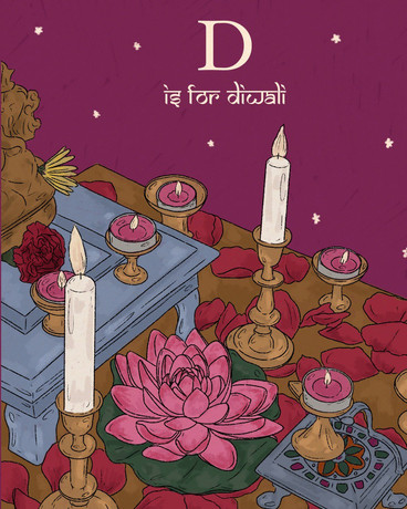 D is for Diwali