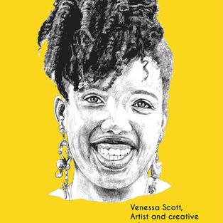 Venessa Scott. 1982 - Artist and Creative Educator