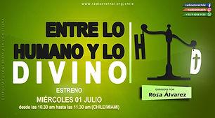 AFICHE 16.9 ENTRE LO HUMANO Y LO DIVINO.