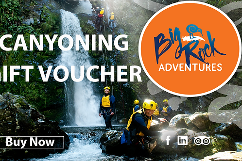 Canyoning Christchurch Gift Voucher