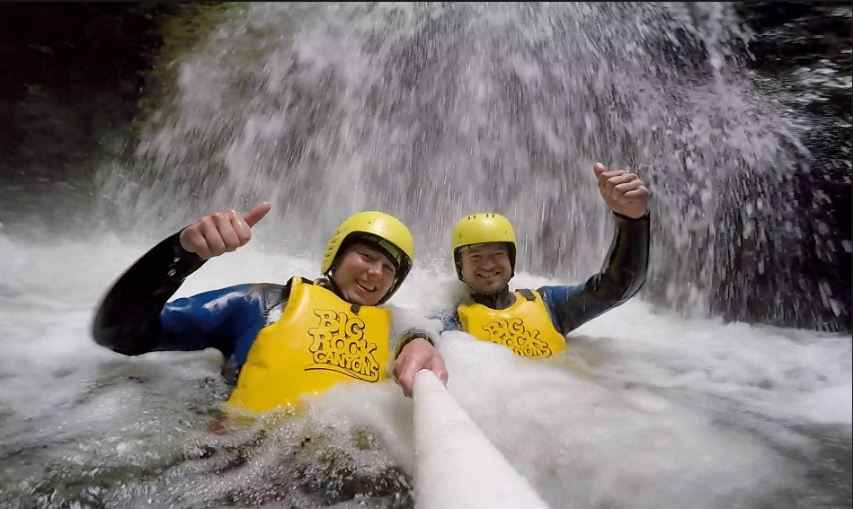 Canyoning Christchurch - With Pick Up