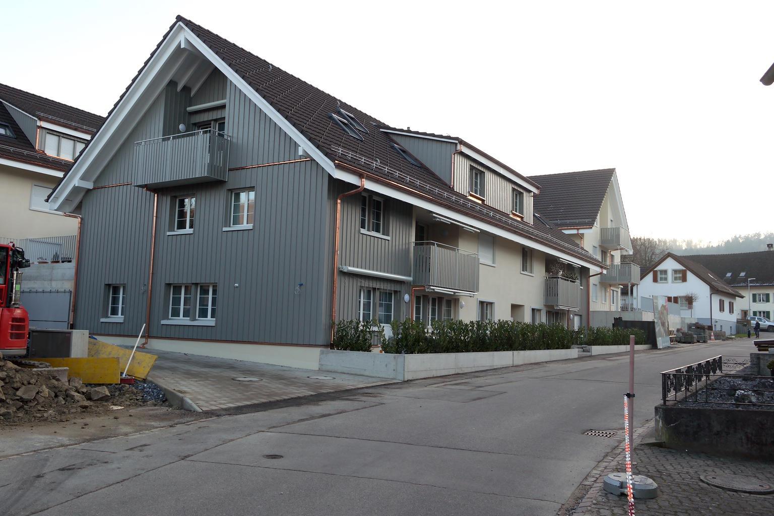 Neubau Weiach aussen 2019