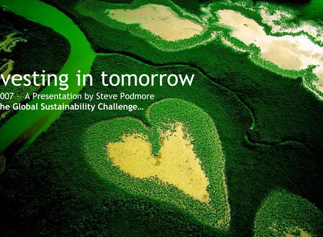 The origins of Transform Global - Global Sustainability Challenge!