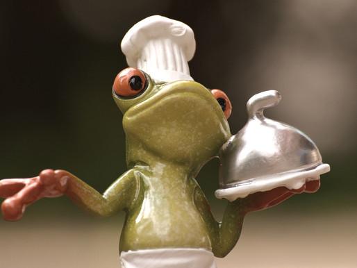 La grenouille qui ne savait pas qu'elle était cuite