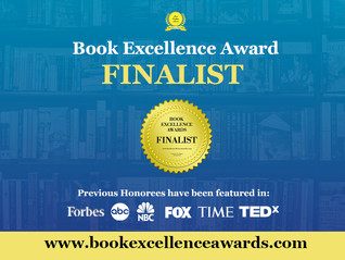 I received a Book Excellence Award!