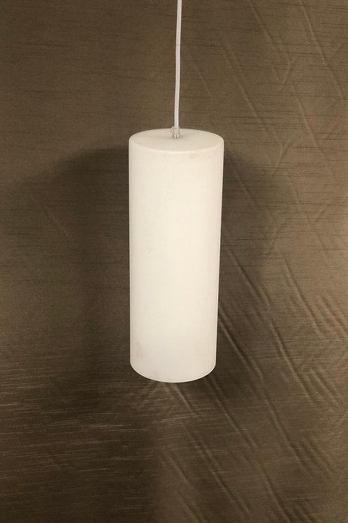 White Cylinder Pendant