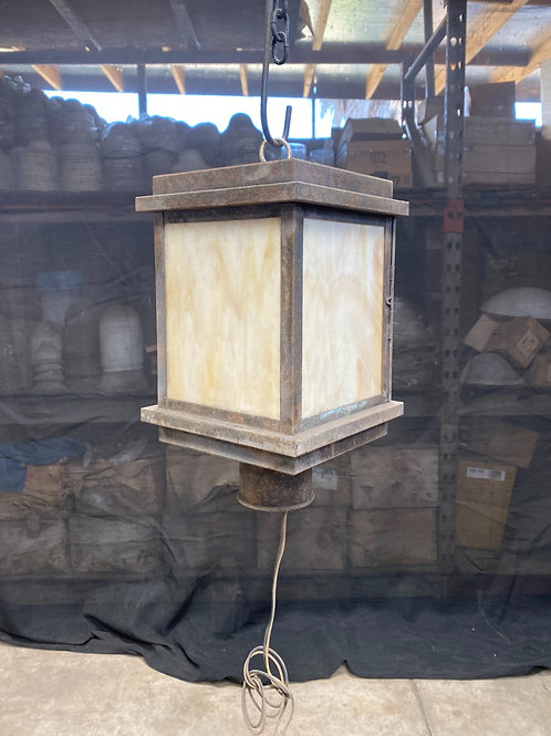 Small Post Mount Lantern