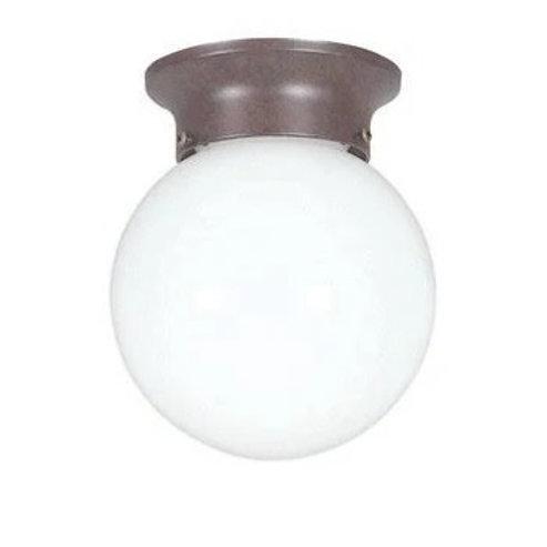 Flush Mount Opal Ball Fixture