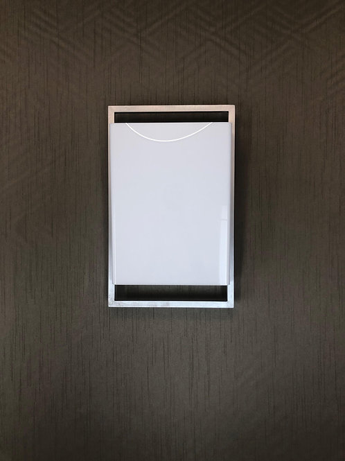 Rectangular Acrylic Wall Sconce
