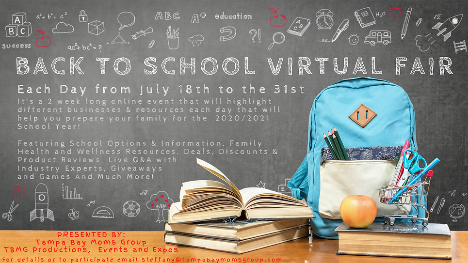 Back to School Virtual Fair large cover.