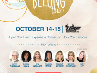 Win Tickets to the Belong Tour