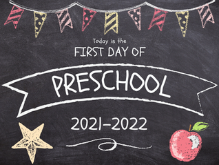 First Day of School Chalkboard Style Signs