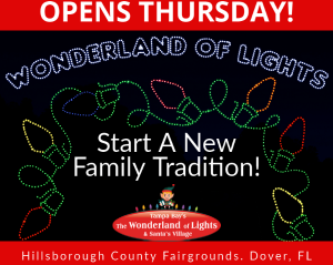 THE WONDERLAND OF LIGHTS & SANTA'S VILLAGEINTRODUCES A NEW LINE-UP OF FAMILY-FUN ENTERTAINMENT