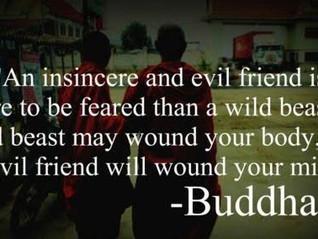 Identifying a Toxic Friend