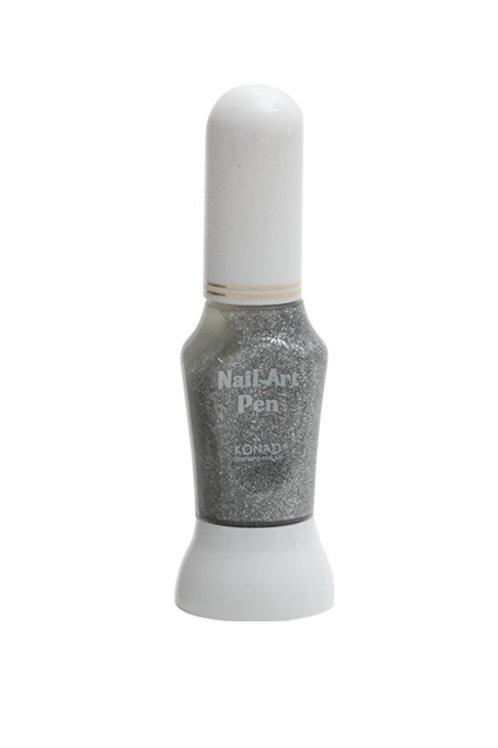 Konad Nail art pen - Sølv glitter