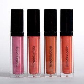 Mineralogie Lip Gloss -flere farver