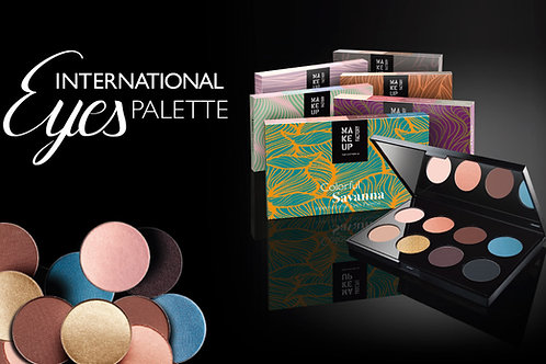 Makeup Factory International Eyes Palette - flere varianter