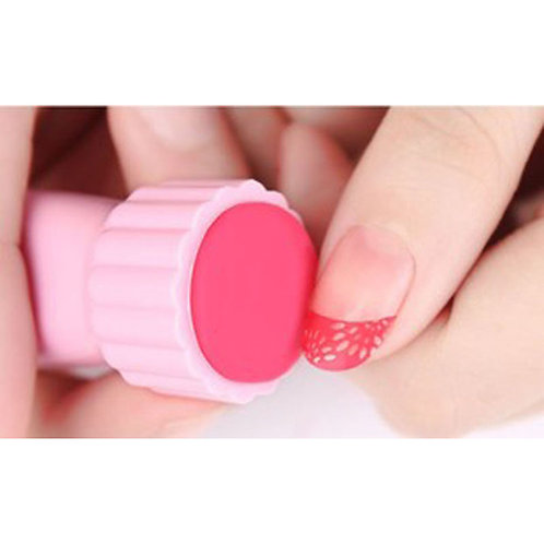 Stamping nail art sæt - Mellem