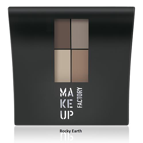 Makeup Factory Mat øjenskyggepalette
