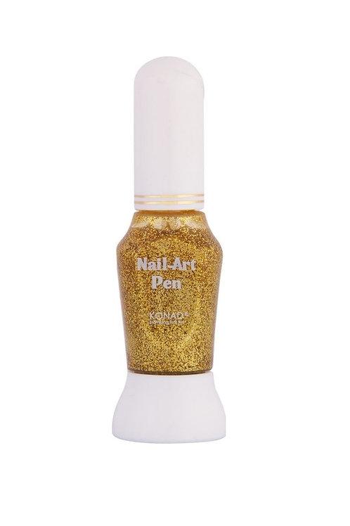 Konad Nail art pen - Guld glitter