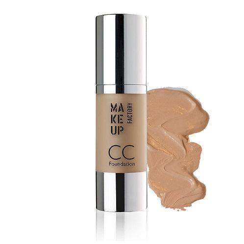 Makeup Factory CC Foundation - flere farver