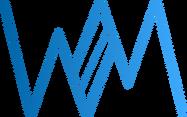 Blue White Mouse Logo