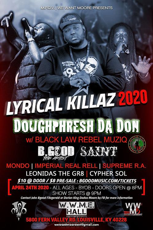 Lyrical Killaz 2020