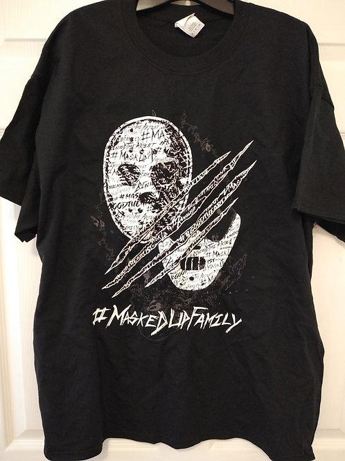 #MaskedUpFamily Jason/Hannibal Black T