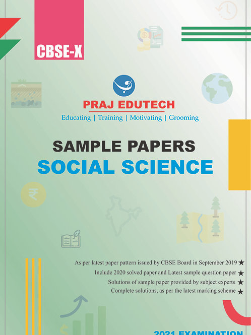 CBSE X Social Science Sample Papers