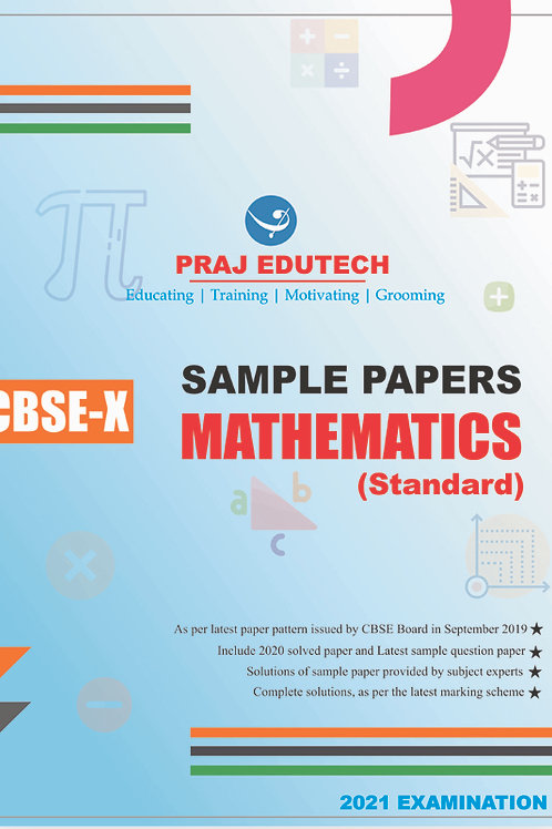 CBSE X Mathematics Sample Papers
