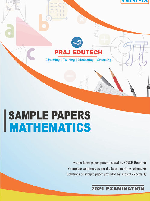 CBSE IX Mathematics Sample Papers