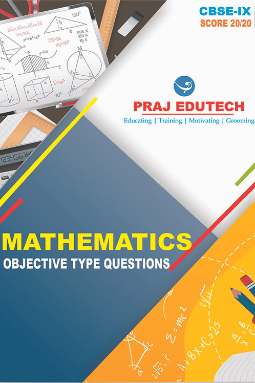 CBSE IX Mathematics Objective Questions Book
