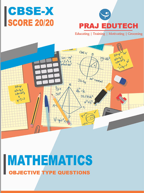 CBSE X Mathematics Objective Questions Book