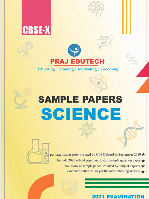 CBSE X Science Sample Papers