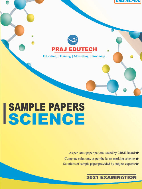 CBSE IX Science Sample Papers