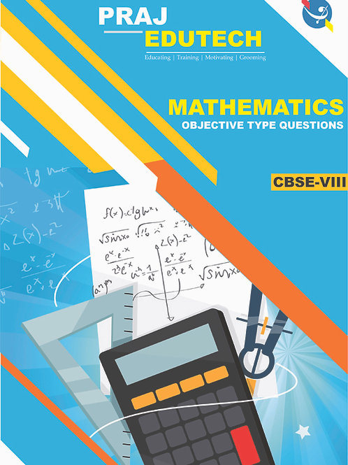 CBSE 8th Mathematics Objective Questions Book