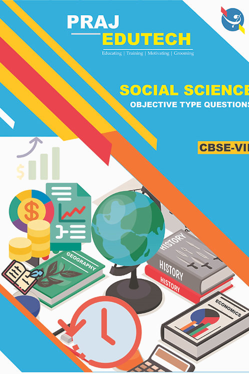 CBSE 8th Social Science Objective Questions Book