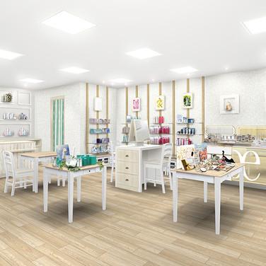 化粧品専門店デザイン