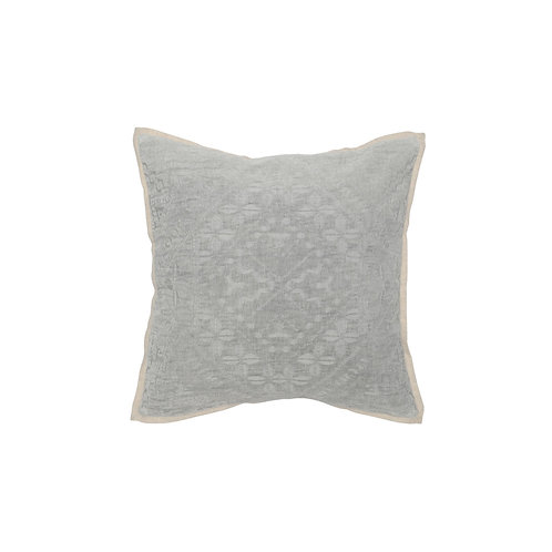 Textured Cotton Blend Pillow