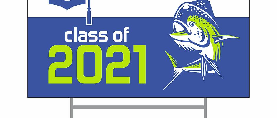 MHS Senior Sign 2021
