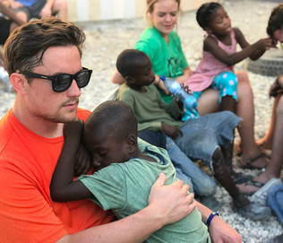 Meeting with the children of Haiti