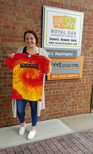 Royal Oak Chamber of Commerce, Art of Fire Festival 2019