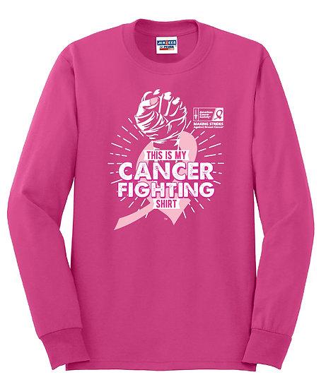 Fight Cancer Crewneck Sweatshirt - Pink