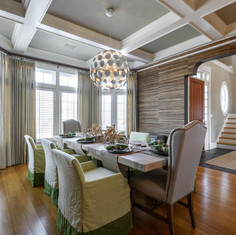 Wood Themed Dining Room