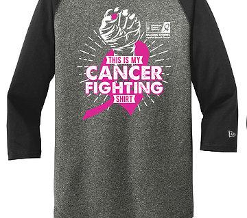 Fight Cancer Baseball Shirt