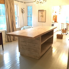 Custom Island for a homey kitchen