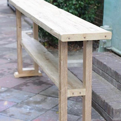 Hand Crafted Sofa Table