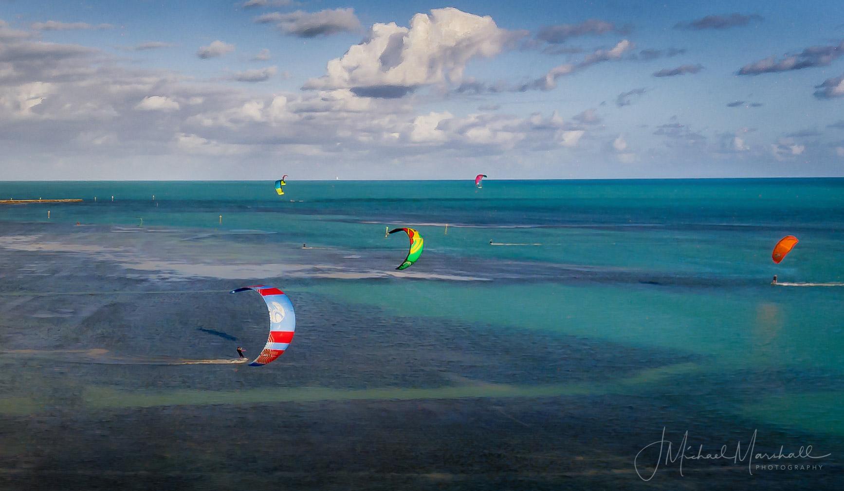 Kite Boarding Ocean